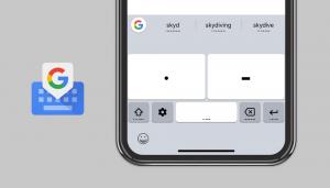 Gboard Google Morse Code